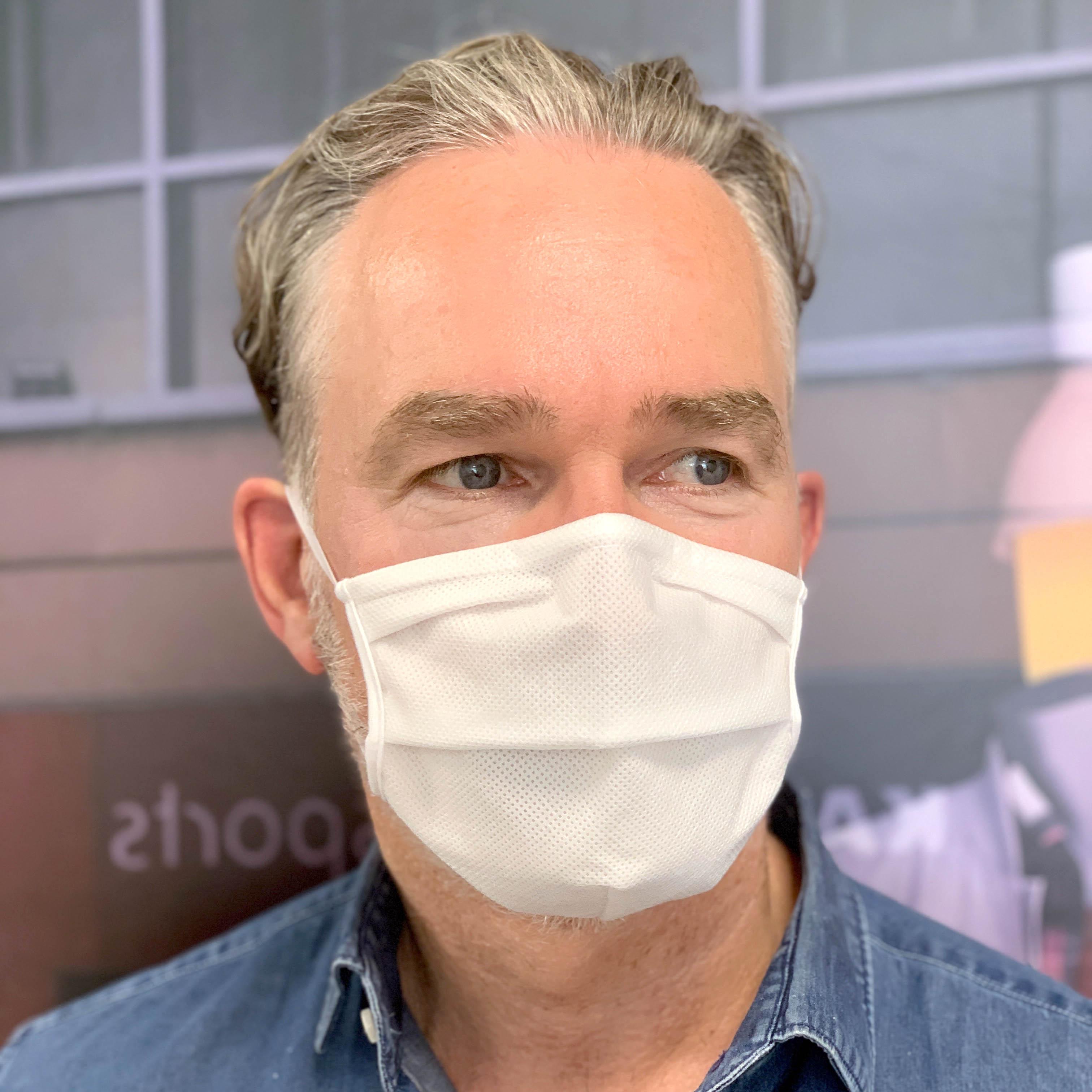 5 x Mundschutzmaske 3-lagig wiederverwendbar EU