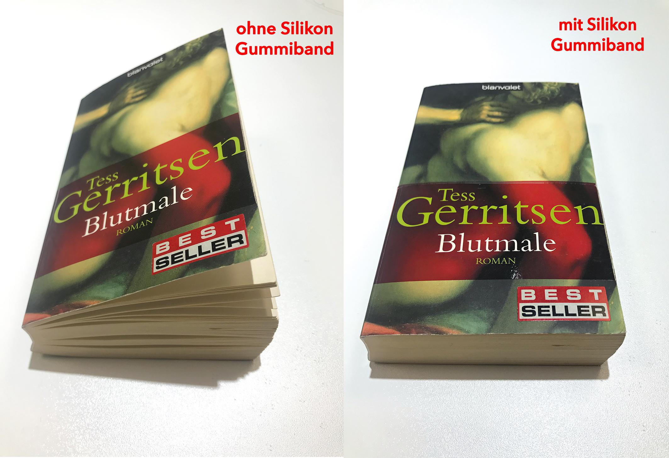 Silikon Gummibänder Bücher (Bestseller)