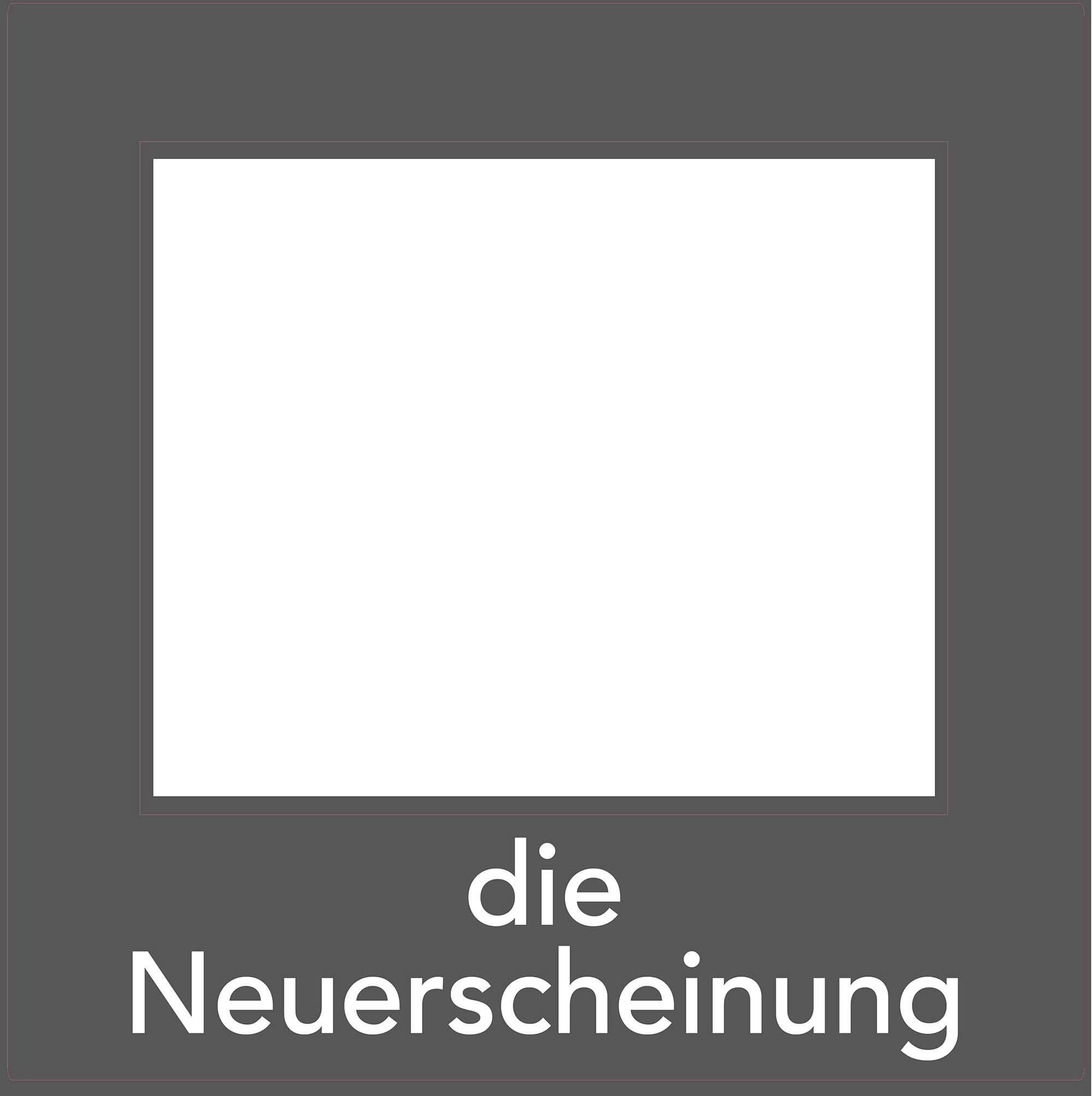 1er Set Decoframe Folien für Buchhandlungen. Grau