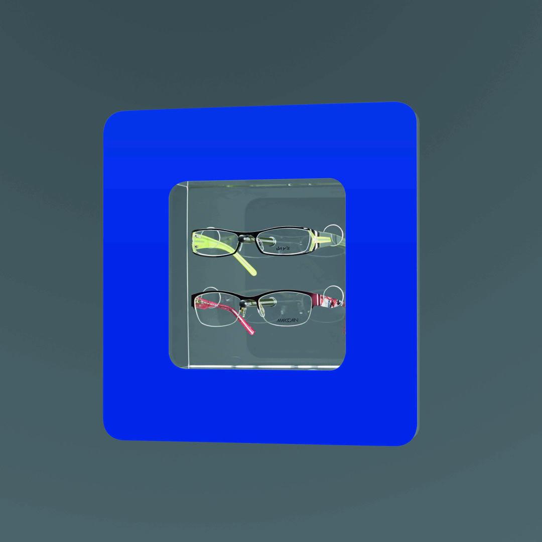 OPTIMOS Folie - blau HKS 42
